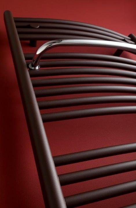 Koupelnový radiátor  Blenheim - hnědá - detail