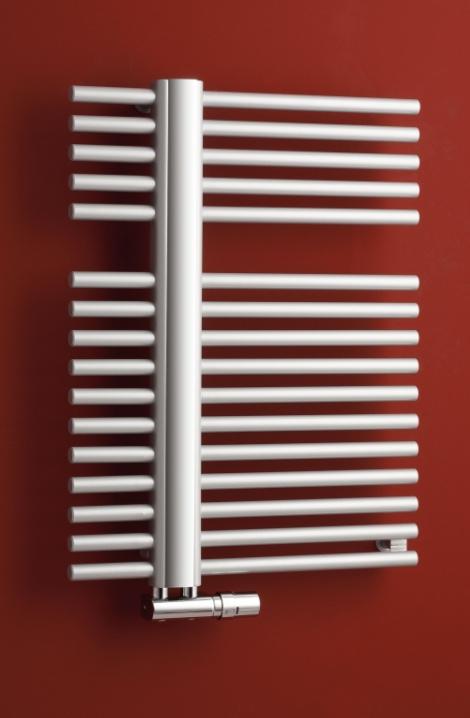 Koupelnový radiátor Kronos  - metalická stříbrná  - KR1MS