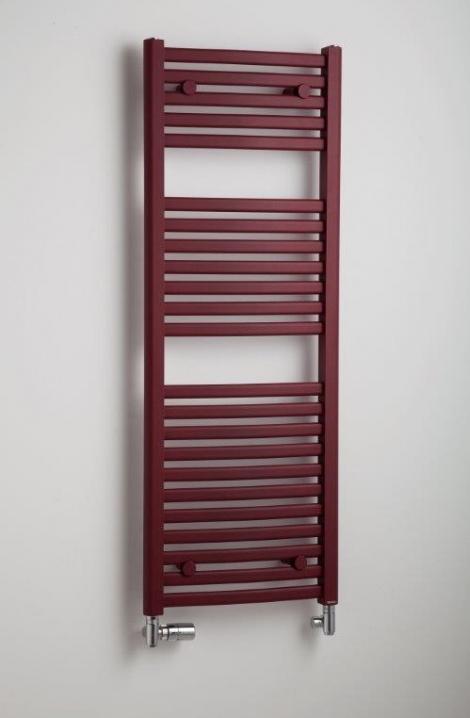Koupelnový  radiátor Marabu  - bordó - M4RE