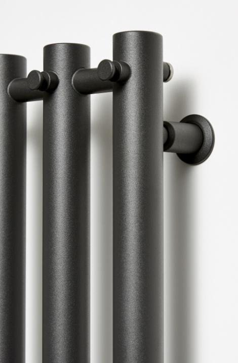 Koupelnový  radiátor  Rosendal - antracit