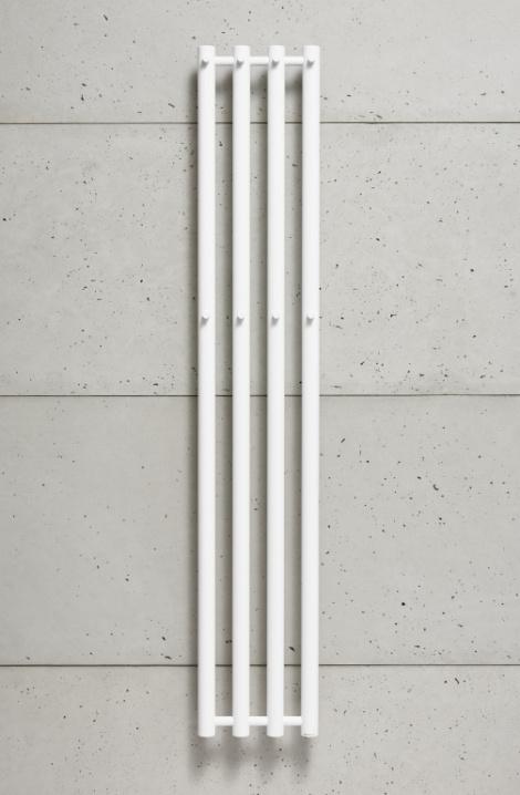 Koupelnový  radiátor  Rosendal  -bílá