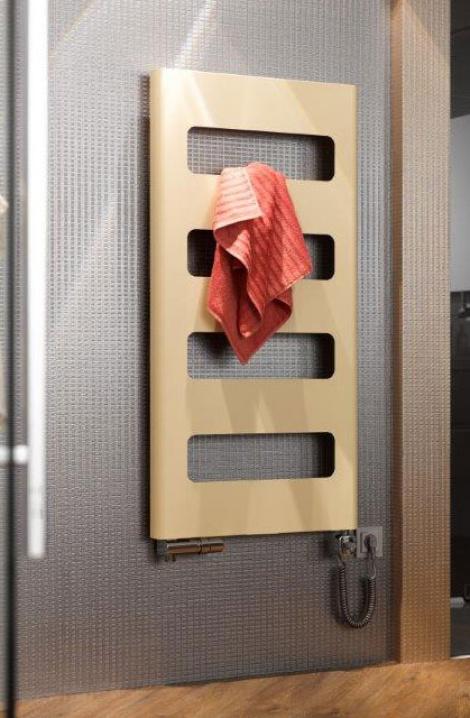 Kúpeľňový radiátor Retro  - šedobéžová - RTGBE