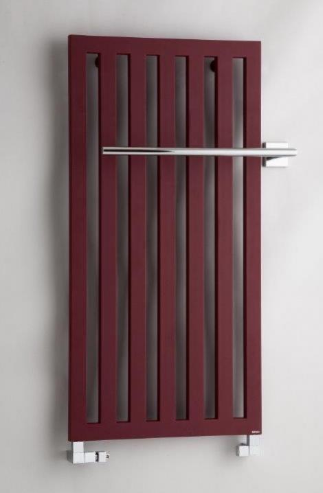 Kúpeľňový radiátor Darius  - bordó - DA2RE