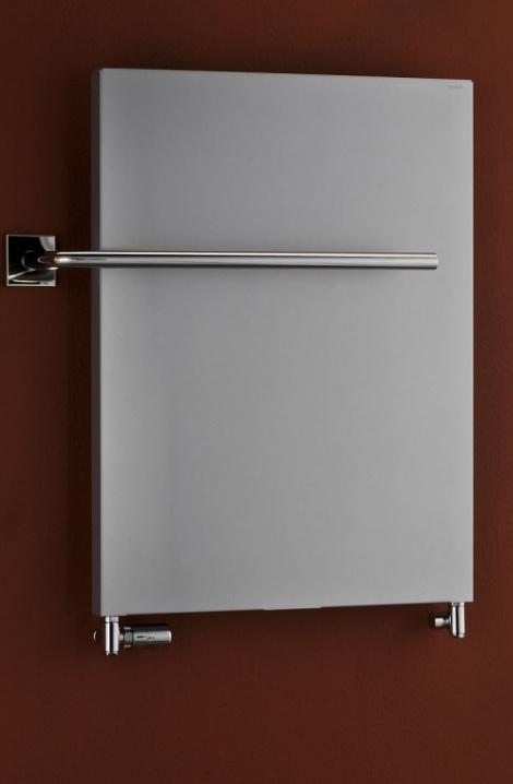 Kúpeľňový radiátor Pegasus - metalická strieborná - PG2MS