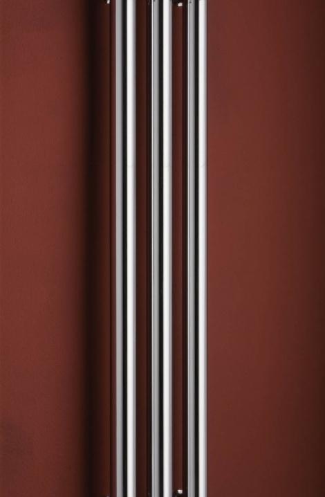 Kúpeľňový radiátor Rosendal  -  chrom