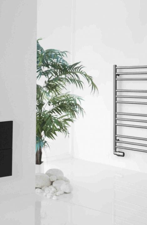 Kúpeľňový radiátor Sorano  - nerez - SN2SS