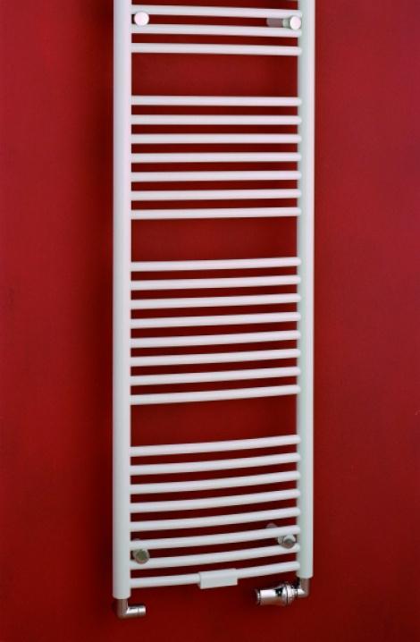 Kúpeľňový radiátor Danby - biela - D5W