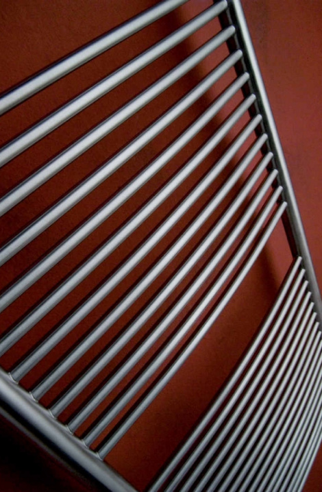 Kúpeľňový radiátor Taifun - nerez