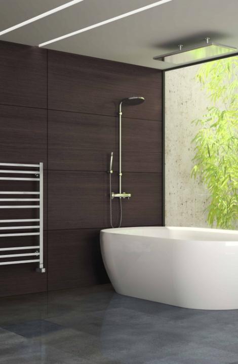 Kúpeľňový radiátor Avento -  chrom -AV2C