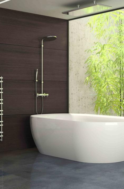 Kúpeľňový radiátor Ulysses - chrom