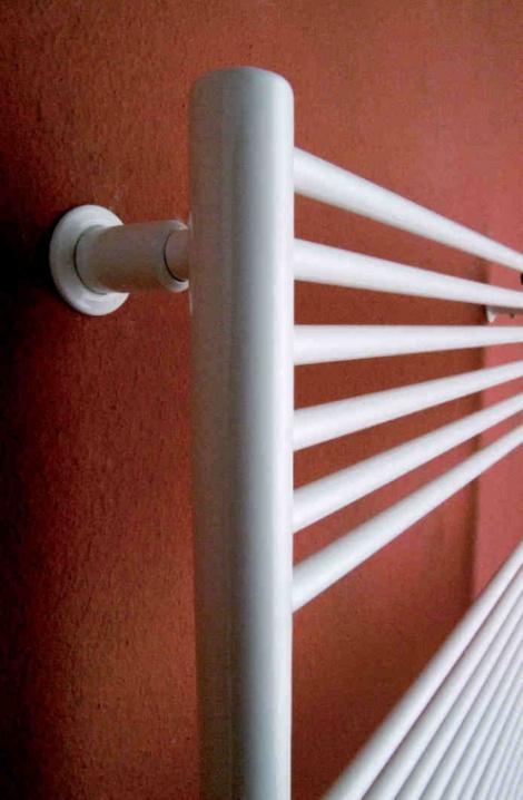 Kúpeľňový radiátor Taifun  - bílá